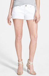 Paige Denim 'Catalina' Cutoff Shorts (Optic White)
