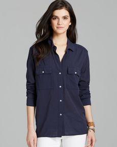James Perse Shirt - Button Down Pocket