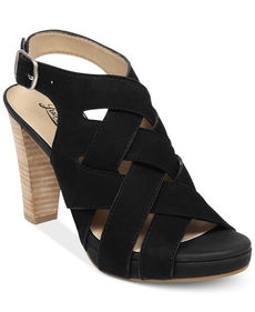 Lucky Brand Pexx Caged Platform Sandals