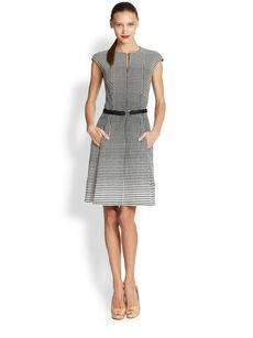 Akris Punto Degrade Dot Dress