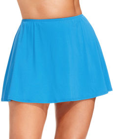 MICHAEL Michael Kors Plus Size Solid Swim Skirt