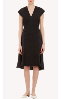 3.1 Phillip Lim Silk Skirt V-neck Dress
