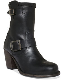 Frye Women's Karla Engineer Short Booties