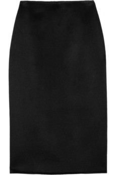 Michael Kors Wool and angora-blend skirt