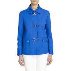 Sport Jacket in a Travel-Friendly Stretch Knit (Petite)