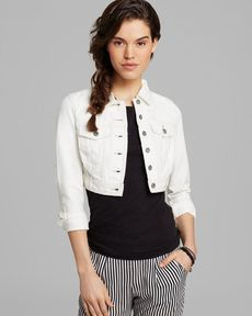 Free People Jacket - Cropped Denim