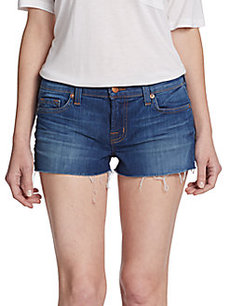 J Brand Low Rise Cut-Off Shorts
