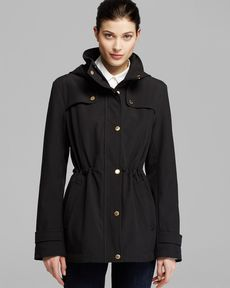 Ellen Tracy Anorak - Hooded Soft Shell
