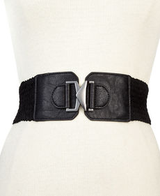 Steve Madden Woven Stretch Belt