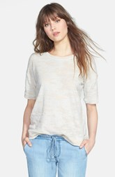kensie Burnout French Terry Sweatshirt