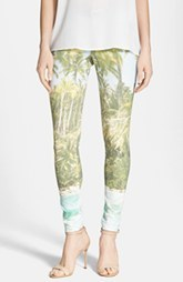 Hue 'Tropical Sleek' Ponte Leggings