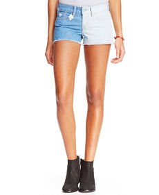 Levi's® Juniors' Two-Tone Cut-Off Shorts