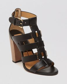 Dolce Vita Open Toe Gladiator Sandals - Niro High Heel