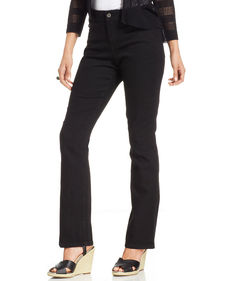 Charter Club Straight-Leg Jeans, Blackout Wash