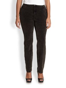 Eileen Fisher, Sizes 14-24 Velvet Skinny Jeans
