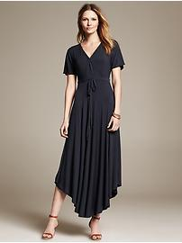 Handkerchief Hem Patio Dress
