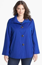 Ellen Tracy 'Signature' Rain Jacket (Plus Size)