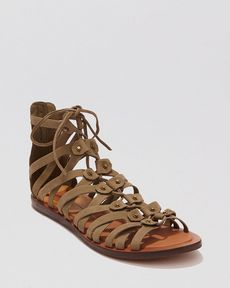Dolce Vita Flat Gladiator Sandals - Fray