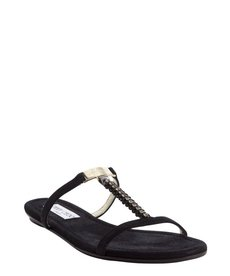 Jimmy Choo black sateen diamante 'Nala' sandals