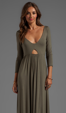 Rachel Pally Dakota Maxi Dress in Brown