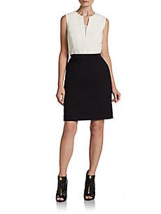 3.1 Phillip Lim Two-Tone Illusion Dress