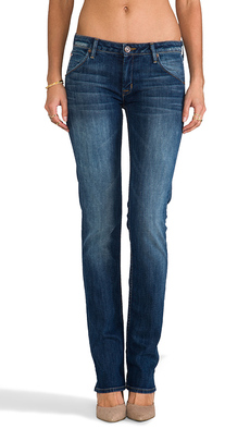 Hudson Jeans Carly Straight in Pennyroyal Tea