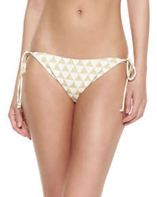 Shoshanna Palm Desert Triange-Print Swim Bottom