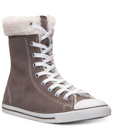 Converse Women's Chuck Taylor All Star Dainty Hi Suede Casual Sneakers from Finish Line