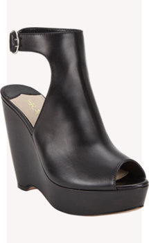 Prada Halter Platform Wedge Sandals