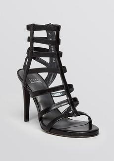 Stuart Weitzman Open Toe Gladiator Sandals - Cleo High Heel