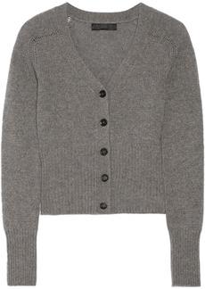 Burberry Prorsum Fine-knit cashmere cardigan