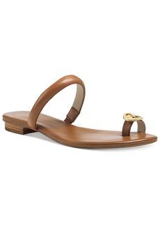 MICHAEL Michael Kors Nora Toe Thong Sandals