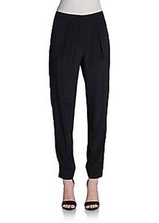 Diane von Furstenberg Atlas Silk Pants