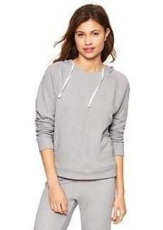 Marled terry hoodie