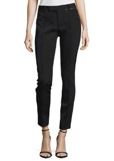 Nanette Lepore Misbehavin' Textured Combo Pants, Black