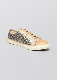 Tory Burch Lace Up Sneakers - Caspe