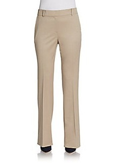 St. John Annabel Stretch-Wool Trousers