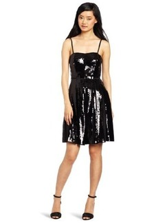 French Connection Women's Glacier Sequins Dress