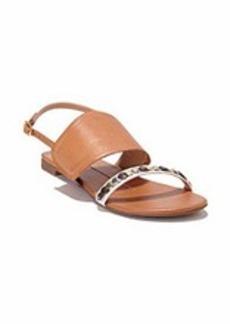 "Dolce Vita® ""Dixan"" Flat Sandals with Metal Disc Detail"
