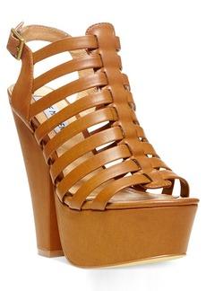 Steve Madden Glendael Caged Platform Sandals