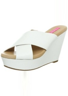 Isaac Mizrahi New York Women's Cora Wedge Sandal