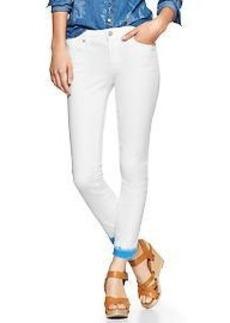 1969 dip-dye always skinny skimmer jeans