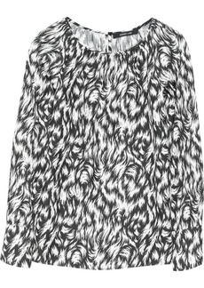 Derek Lam Printed silk blouse