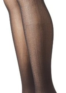 Betsey Johnson Women's 2 Pair Pack Herringbone Tights