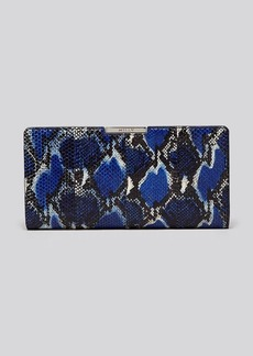 MILLY Clutch - Mercer Watersnake Frame