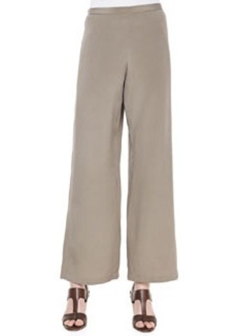 Go Silk Silk Wide-Leg Pants, Women's