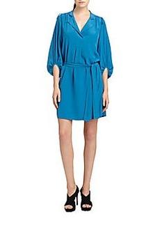Diane von Furstenberg Bairly Louche Silk Dress