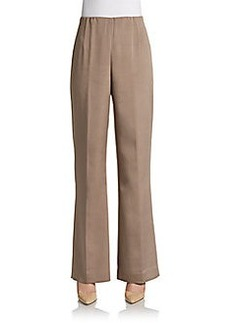 Lafayette 148 New York Wide-Leg Studio Pants