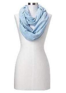 Space-dye T-shirt infinity scarf