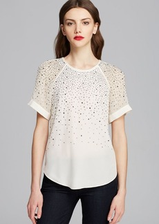 Rebecca Taylor Tee - Ombre Embellished